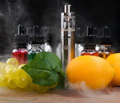 Saveurs e-liquide